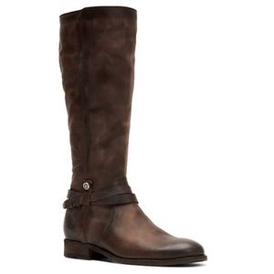Frye Melissa Belted Tall Riding Boots 10